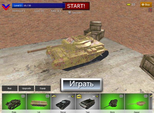 tank igri