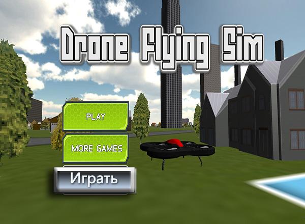 Симулятор Беспилотника / Drone Flying Sim
