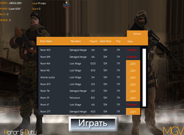 Честь и Долг / Honor and Duty